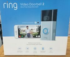 *NEW SEALED* Ring Doorbell 2 1080 HD - Wi-Fi Smart Video Doorbell