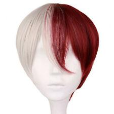My Hero Academia Boku no Hiro Shoto Todoroki Shouto Cosplay Hair Wig + Cap