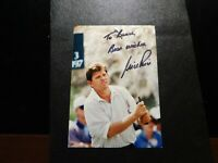 TO BRUCE BEST WISHES NICK PRICE AUTOGRAPH PHOTOGRAPH!  c624DCH
