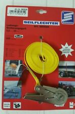 Seilflechter Ratschenzurrgurt, 5m x 25mm, 500daN(kg) mit Edelstahl-Ratsche
