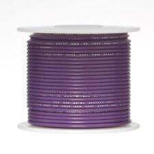 """22 AWG Gauge Stranded Hook Up Wire Violet 500 ft 0.0253"""" PTFE 600 Volts"""