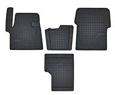 Fußmatten für Opel Monza A 4-teilig in Velours Deluxe dunkelbraun brasil