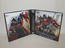 Custom Made Transformers Dark of the Moon Trading Card Album Binder