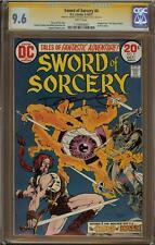 Sword of Sorcery #4 CGC 9.6 Signature Series HOWARD CHAYKIN & DENNY O'NEIL