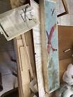 Carl Goldberg Gentle Lady 2 Meter Sailplane Airplane kit Not Sure Complete.