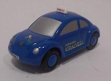 Schuco Piccolo Volkswagen VW Beetle Fahrschule Kracheel Blue NO BOX