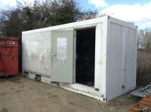 INSULATED SWITCH ROOM CONTAINER - 20FT X 8FT (SG1969)