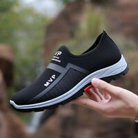 Herren Sneaker Schlüpfen Sportschuhe Turnschuhe Laufschuhe Freizeitschuhe Mode