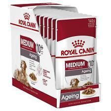 12 X Royal Canin M Senior Hunde Nassfutter in Sauce - Alterung 10 Jahre + 85g