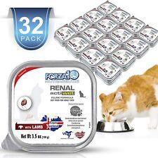 Wet Cat Food Kidney Renal Actiwet with Lamb 3.5oz, Adult Cat Food Wet