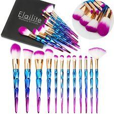 12PCS Pro Kabuki Makeup Brush Set Cosmetic Foundation Powder Brushes Tools+Case