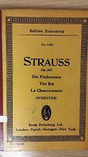 Strauss: la chauve-souris overture: opus 362: musique