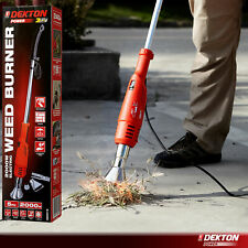 More details for dekton 2000w electric weed burner killer wand hot air blaster torch 650°c no gas