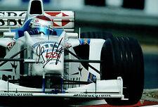 Jos VERSTAPPEN SIGNED Autograph 12x8 Photo Stewart Ford Racing Driver AFTAL COA