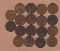18 EDWARD VII FARTHINGS 1902 TO 1910 IN GOOD FINE OR BETTER CONDITION