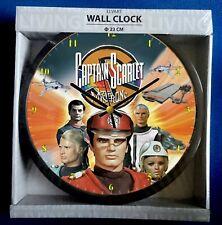 Captain Scarlet Themed Wall Clock