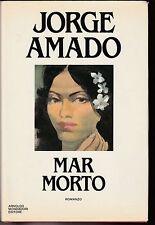 Jorge Amado Mar Morto romanzo Mondadori prima edizione 1985 5713