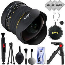 Oshiro 8mm f/3.5 High Definition Aspherical Fisheye Lens for Canon DSLR Cameras