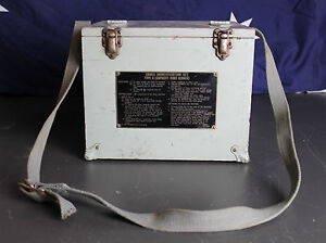 Vintage Wooden Case Cable Indentification Set Type C (Capacity Hand Search)