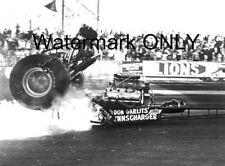 "Don ""Big Daddy"" Garlits 1970 ""SlingShot"" Top Fuel Dragster ""BLOW"" PHOTO!"