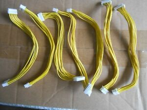 Lot of 7  DVD Yellow cable for Original XBOX