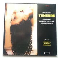 OST - Tenebe Vinyl LP Italian 2001 180g Reissue Rare Horror Soundtrack