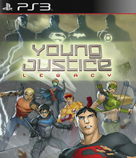 Young Justice Legacy Ps3 PlayStation 3 Video Game UK Delivery