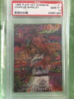 1995 Flair Hot Numbers SETBREAK Charles Barkley #1 PSA 10 GEM MINT only 1 😳🔥🔥