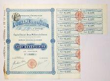 A E F époque Coloniale - Congo F - Cie Française de L'Ouhamé & de la Nana - 1900