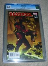 Deadpool (2008) 1 (WHITE pages) CGC 9.8 NM/MT