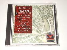 Sigiswald Kuijken – CD – HAYDN – Symphonies No. 82, 83, 84 – 0777 7595372 5