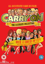 Carry On - The Complete Ultimate Film Collection Box Set | New | Sealed | DVD
