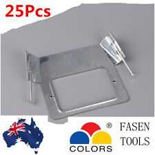 25Pcs  Power Point, Light Switch, 1mm Vertical Brackets with Nail