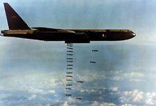 "U.S. Air Force Boeing B-52D Stratofortress 13""x 19"" Vietnam War Photo Poster 224"