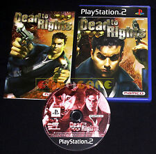 DEAD TO RIGHTS 1 Ps2 Versione Europea ••••• COMPLETO