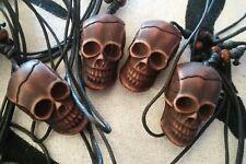 Collar Gótico punk Calavera Colgante Lengua Negra craneo rock skull gothic surf