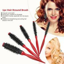 1Pc Hair Curling Roller Small Round Comb Hair Dressing Brush Salon Styling Tool