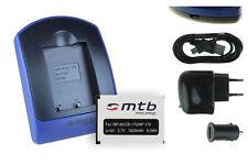 Chargeur+Batterie (USB) NP-85 pour Fuji Fujifilm FinePix SL300, SL305, SL1000