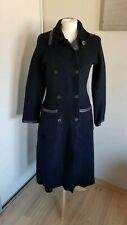Gorgeous Womens Long Woolen Coat From Gudrun Sjoden. Size S/8/10 UK. Great cond.