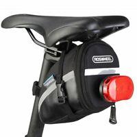 Waterproof Bike Saddle Bag Cycling Seat Pouch Bicycle Tail Rear Storage Bag HA