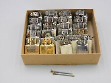 """Lot of 23 Zippo Lighter Inserts Silver and Bronze 1.5"""" & 1"""" wide 2 Flint Springs"""