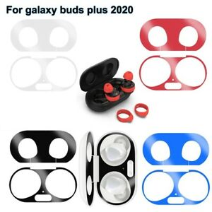 Metal Dust-proof Guard Sticker Case and Ear Tips for Samsung Galaxy Buds Plus