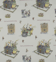 Chocolate Factory Ashley Wilde Roald Dahl 100% Cotton Curtain Upholstery Fabric