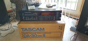 Tascam DA-30 MK-II, DAT Recorder Studio + Remote + Manual