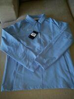 NEW Nike mens winter full-zip light blue jacket  MSRP $135 C14472-448 Size M