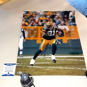CHARLES WOODSON signed autographed 16x20 PACKERS HOF BECKETT BAS COA AA23086