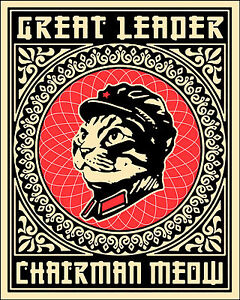 CHAIRMAN MEOW (2) A3 POSTER PRINT ARTS - BUY 2 GET 1 FREE!