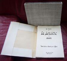 Edouard PASTOR Au Travers de la Sorciere de MICHELET (N°63/100 )  Etui Cartonné