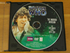 Doctor Who The Android Invasion Story No. 83 Dvd 2012 Tom Baker R1 *Disc Only*