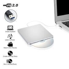 USB External Slot In RW CD Drive Burner Superdrive For Apple MacBook Laptop PC